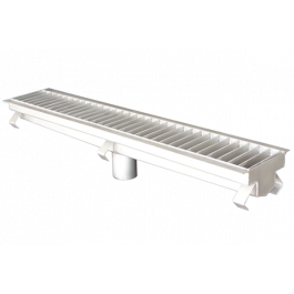 STAINLESS-STEEL CLASSIC TRENCH DRAIN