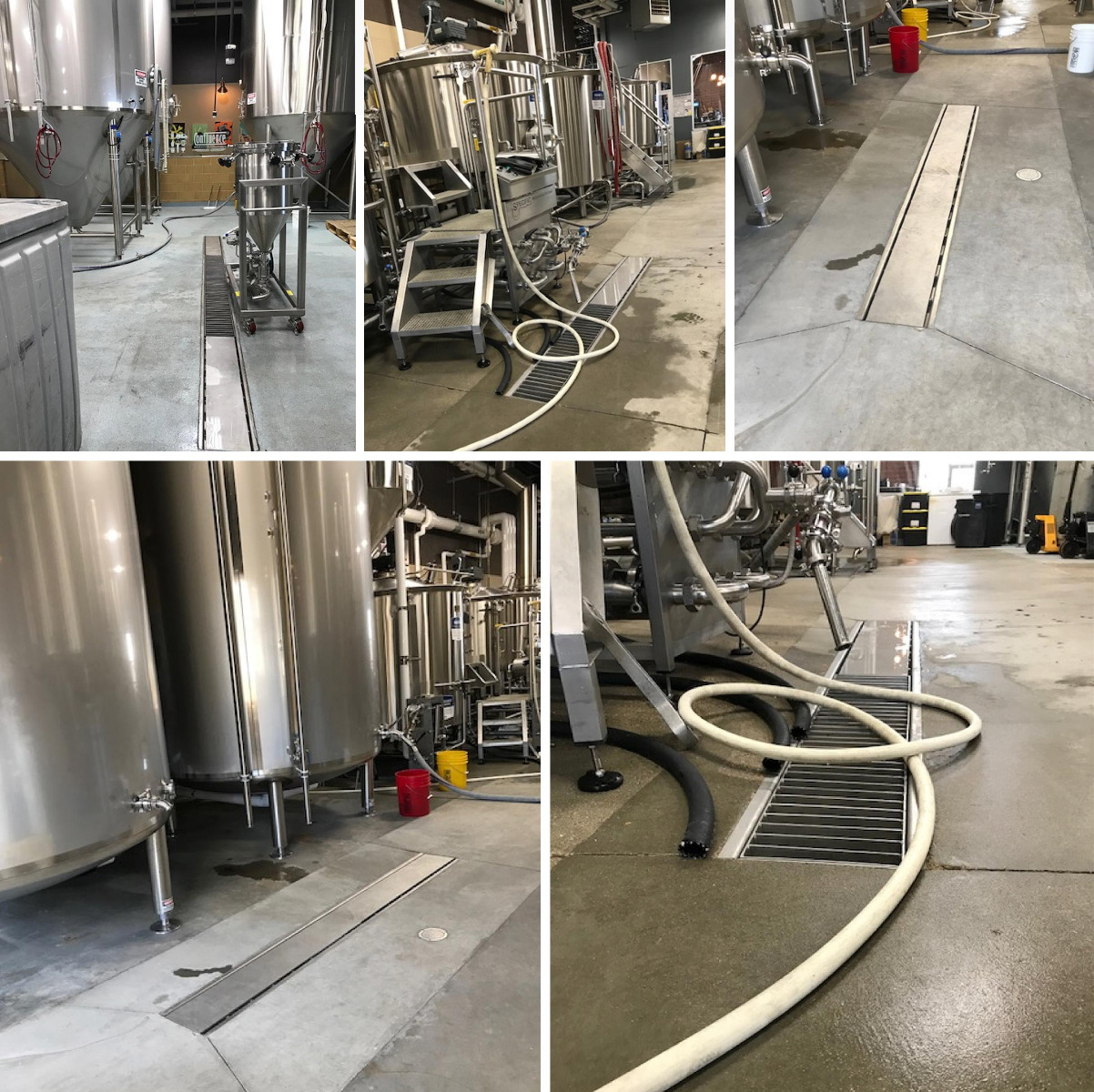 Drainage by Kusel Equipment for a Brewery in Iowa